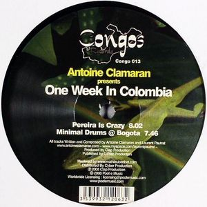 CONGOS 013 - CONGOS Records - ANTOINE CLAMARAN - One Week In Colombia